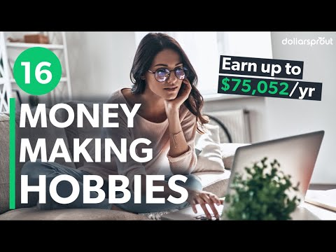 16 Hobbies That Make Money How $72,052 Per Year Is Within Reach 🧙♂️