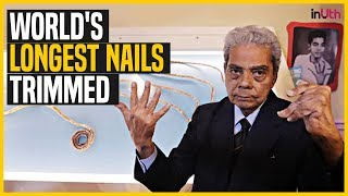 World's Longest Nails Trimmed | InUth