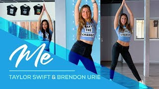 Taylor Swift - ME! (ft Brendon Urie) Easy Fitness Dance Video Choreography
