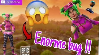 🔴 HUGE BUG ON FORTNITE WITH THE ZOEY SKIN !!! 🔴 (bug also present on a lot of skins)