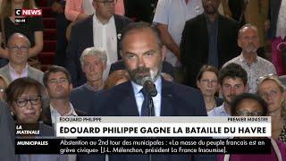 Municipales 2020 : Edouard Philippe Renforcé Après Sa Victoire Au Havre