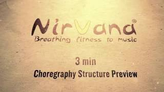 NirvanaFitness® Choreography Structure Preview