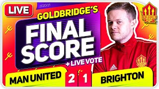 GOLDBRIDGE! Manchester United 2-1 Brighton Match Reaction