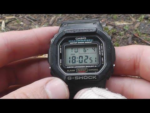 Обзор НЕУБИВАЕМЫХ Casio G-Shock DW 5600, сравнение с ProTrek. Часы ABVGAT