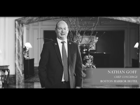 Nathan Goff - Chef Concierge at the Boston Harbor Hotel