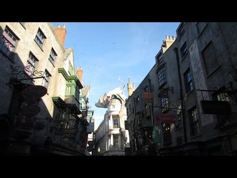 Grand Opening Day Of Diagon Alley In The Wizarding World Of Harry Potter At Universal!!! (7.8.14)
