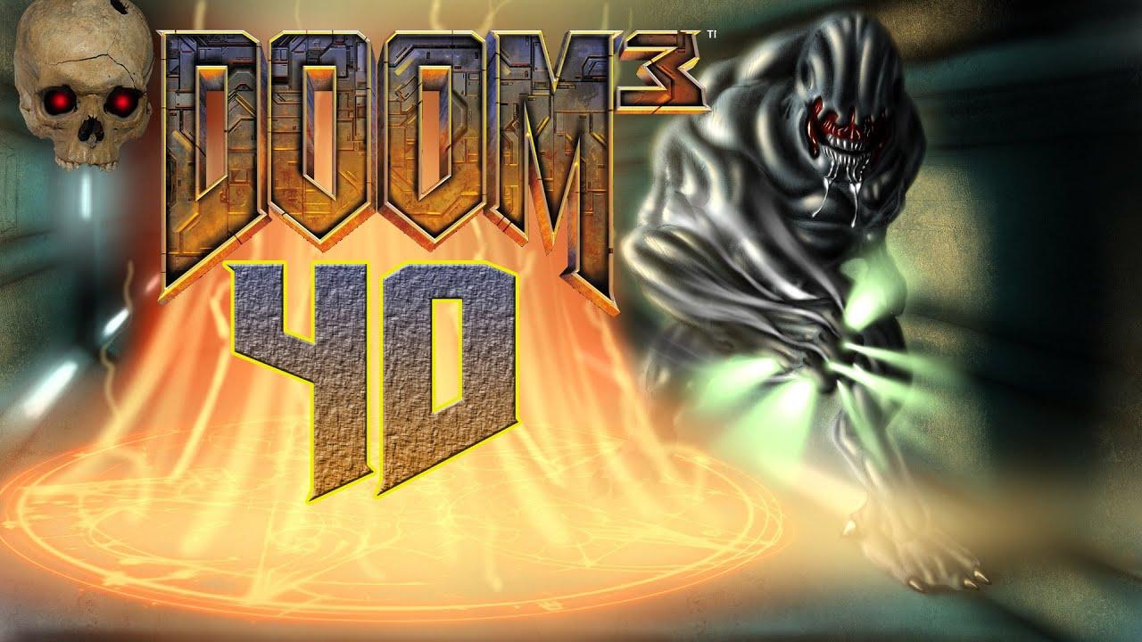 40 Unterirdischer Tempel Let S Play Doom 3 Blind Youtube