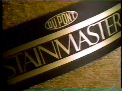 Dupont Stainmaster Carpet Ad 1989 Youtube