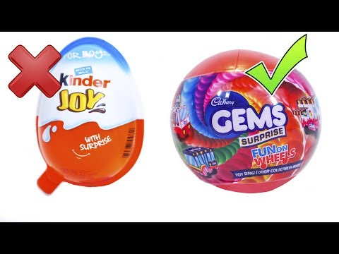 KINDER JOY vs GEMS SURPRISE