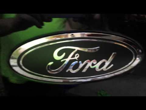 2017 F150 Black Out Ford Emblems (DIY)