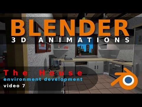 Blender Animation The House Video 7
