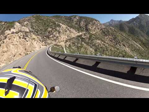 Mt Wilson on Motorcycle via MariaCam