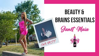 Beauty & Brains Girl Essentials | Janet Maia