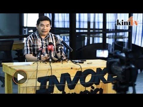 Invoke funding: Rafizi answers Rizal's five questions
