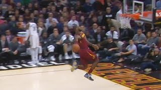 LeBron James Misses Dunk - Shaqtin A Fool Moment | Cleveland Cavaliers vs Brooklyn Nets