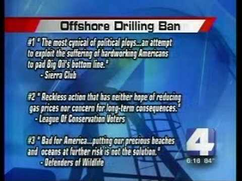 Martin Heinrich Flip-Flops on Offshore Drilling