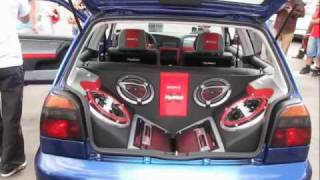 Sony DemoCar Volkswagen Golf III