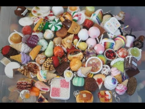 Some Of My Miniature Foods,  Polymer Clay Food