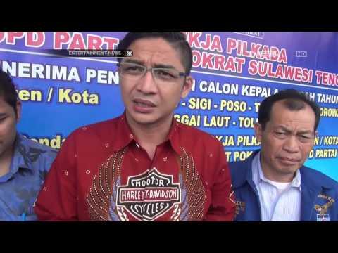 Pasha Ungu Daftar Menjadi Walikota Palu
