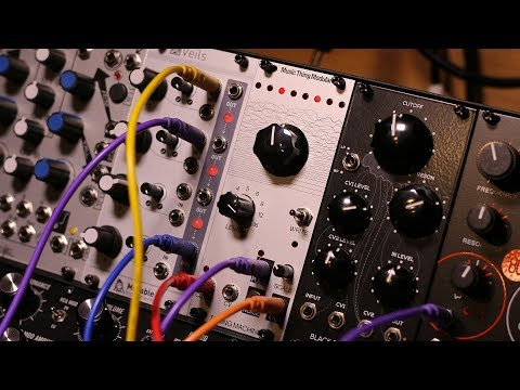 Molten Modular 13 - My first DIY module: The Turing Machine