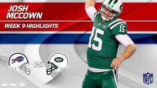 Josh McCown's Big Win w/ 2 TDs vs. Buffalo | Bills vs. Jets | Wk 9 Player Highlights