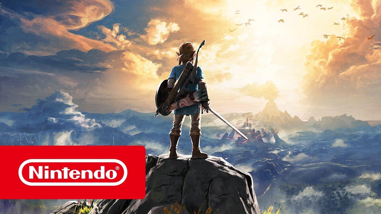 The Legend Of Zelda Breath Of The Wild Trailer De Nintendo Switch