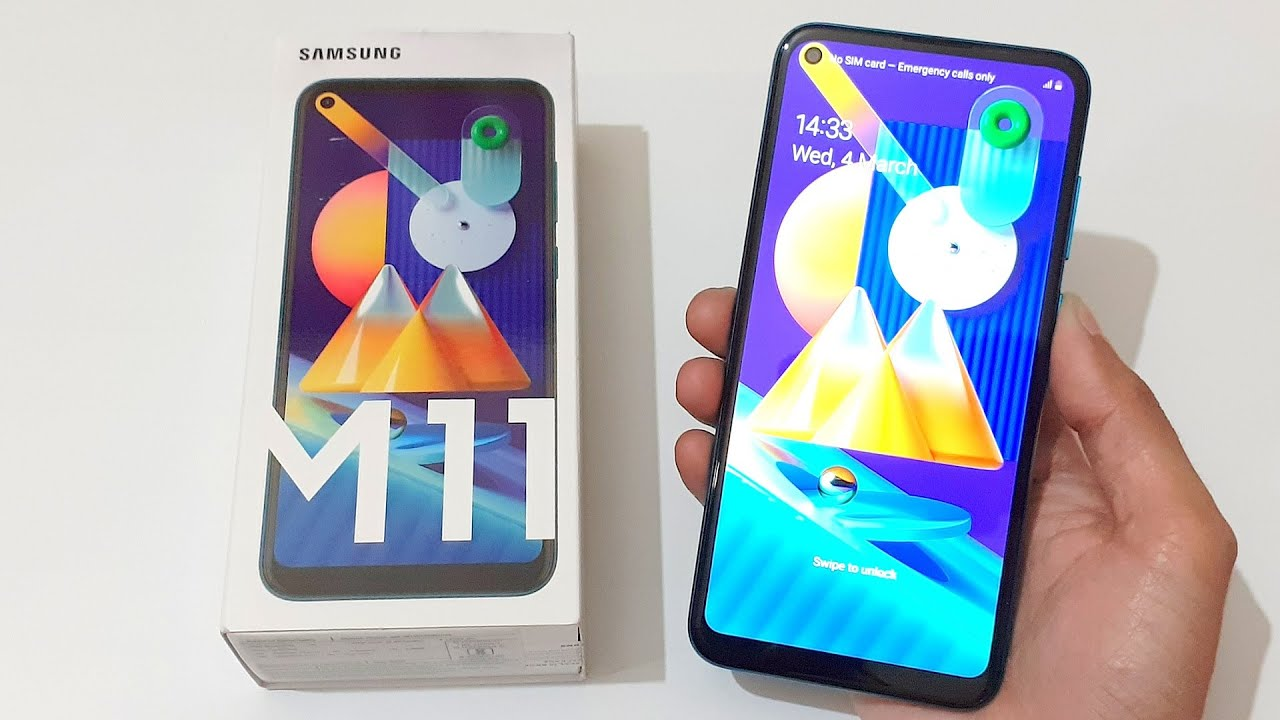 Samsung Galaxy M11 Unboxing & Quick Review - Triple Rear Cameras & Great Looks