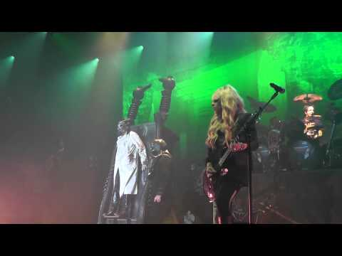 Alice Cooper  Feed My Frankenstein    2012 epic ending