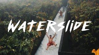 SECRET WATERSLIDE IN THE HAWAIIAN RAINFOREST