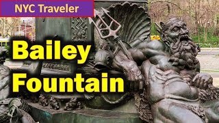 Great Relaxing Spot ! Baileys Fountain Grand Army Plaza