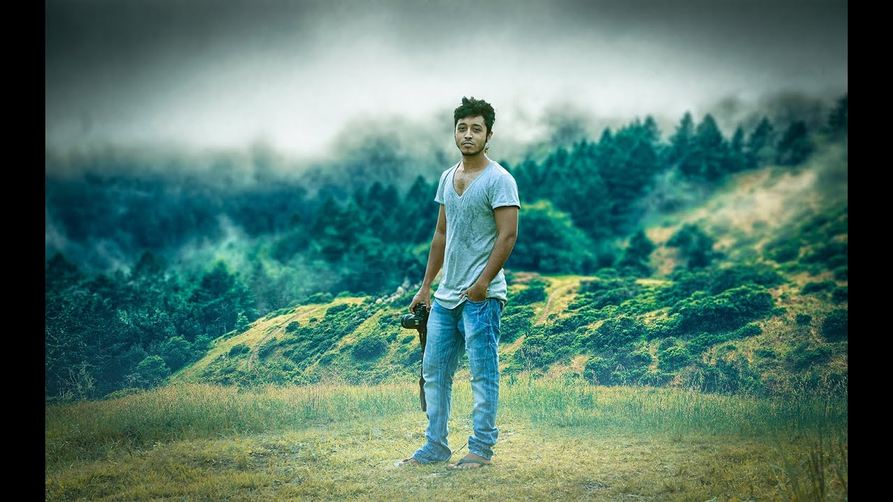 Background for images in photoshop - Photoshop Tutorial How To Change Background Photo Manipulation Youtube