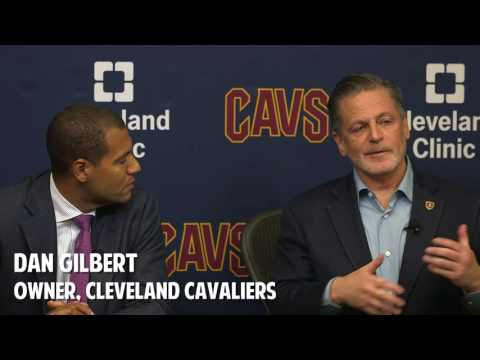 Cavaliers owner Dan Gilbert says Kyrie Irving situation is