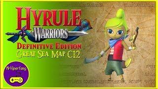 Hyrule Warriors (Switch): Great Sea Map C12 - Tetra