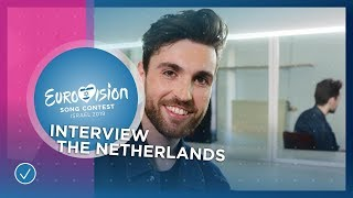 Duncan Laurence (The Netherlands): 'This story has been stuck in my head for years!'