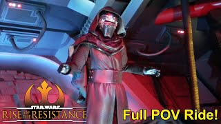 Star Wars: Rise of the Resistance Full POV Ride-Through (Spoilers) - Galaxy's Edge, Disney World
