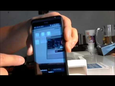 FreedomPOP Phone HTC EVO Design 4G WiMAX on Sprint Network