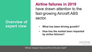 Airline Failures and the ABS Market