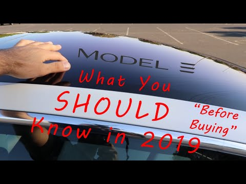 Tesla Model 3 Review of What You SHOULD Know Before Buying in 2019