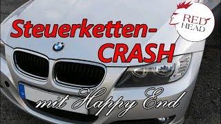 BMW Steuerkette im Auflöseprozess. Ölpumpe ohne Öl dennoch Glück im Unglück