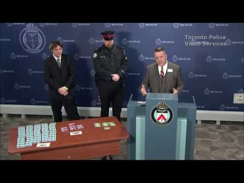 Joint @TorontoPolice / TTC News Conference re: 62 Arrests Made in Transit Fraud