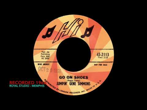 JUMPIN' GENE SIMMONS - Go On Shoes