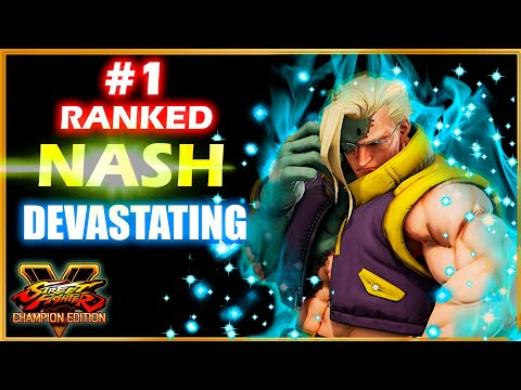 Ex-Hitman(Nash) Devastating *Street Fighter V Champion Edition*   SFV CE |