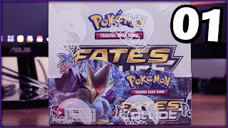 Pokemon TCG - Fates Collide Booster Box Opening w/ JayYTGamer! [Part 1]