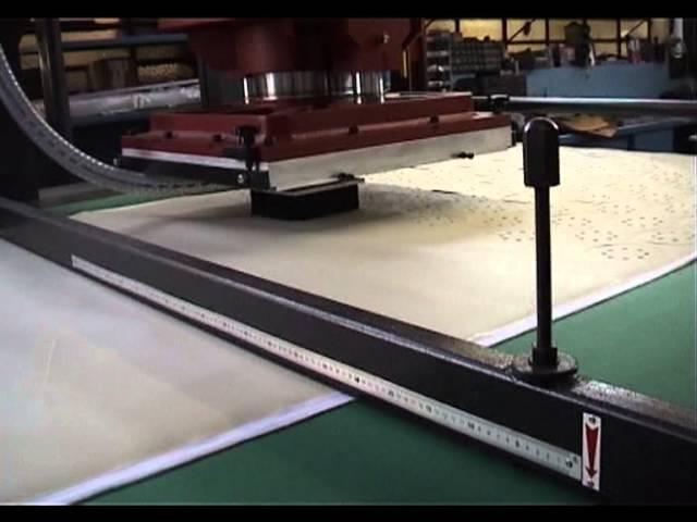 CHIESA F1 EDI 45T CNC Traveling Head Press - Abrasive Disc Cutting