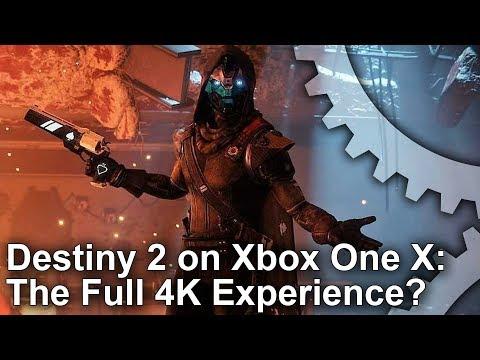 [4K] Destiny 2: Xbox One X vs PS4 Pro vs PC - Graphics Comparison + Frame-Rate Test