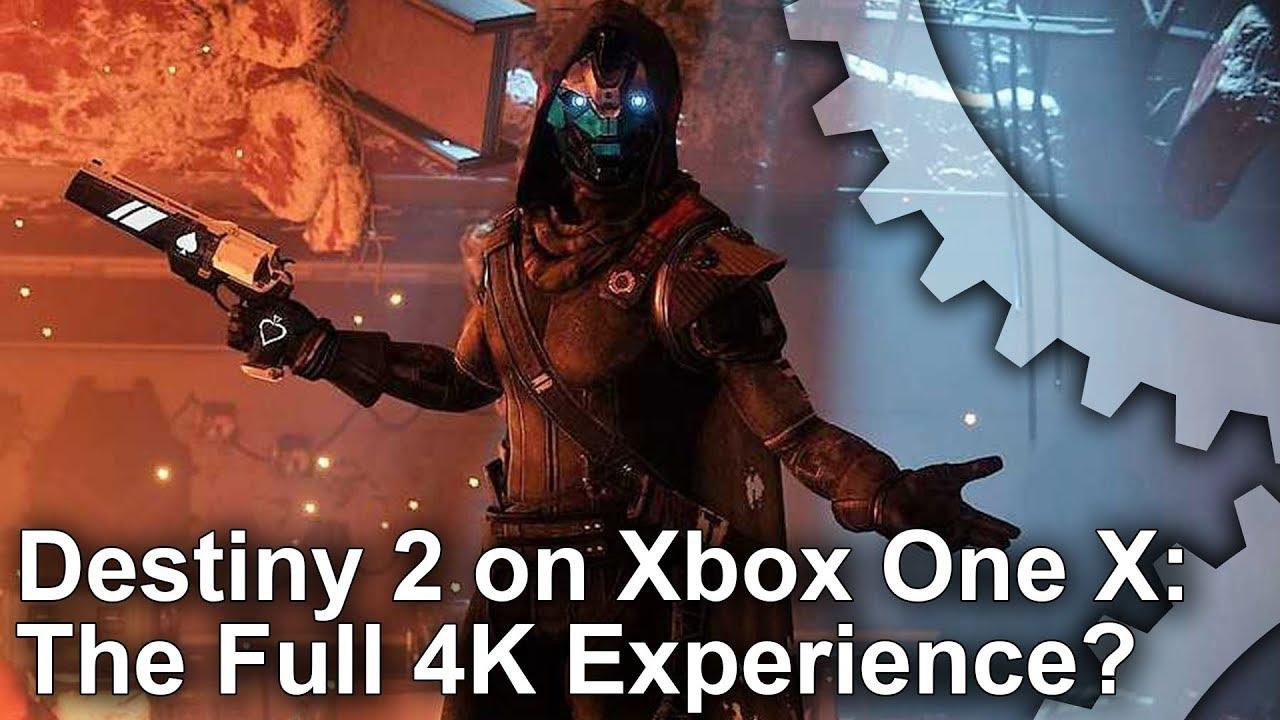Xbox One X's 4K Destiny 2 upgrade analysed • Eurogamer net