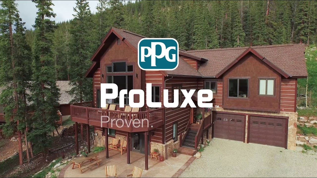 PPG PROLUXE Stain Products — Days Paints & Design | Benjamin