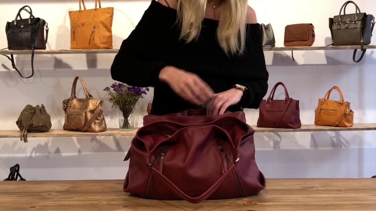 bien pas cher sortie en vente nouveau design Sabrina Paris - Le sac Lætitia en couleur vin
