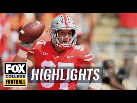 Ohio State posts 77 points in season opener vs Oregon State | FOX COLLEGE FOOTBALL
