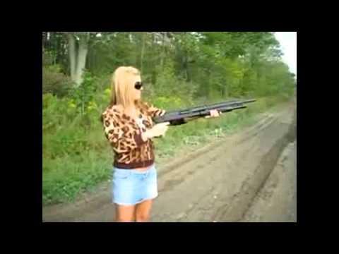 Những tai nạn khi phụ nữ dùng súng - VTC News